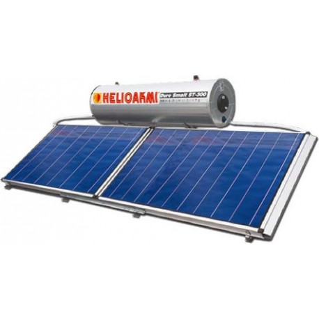 Helioakmi Megasun 300E-HOR 5.24m² glass boiler Οριζόντιος Ηλιακός Διπλής επιλεκτικός