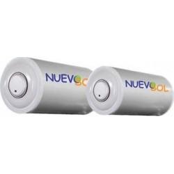 Nuevosol BLGQS 300 lt Glass Boiler Ηλιακού Διπλής Ενέργειας (12 Άτοκες Δόσεις)